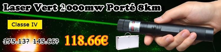 2000mw pointeur laser tr s puissant et pas cher. Black Bedroom Furniture Sets. Home Design Ideas