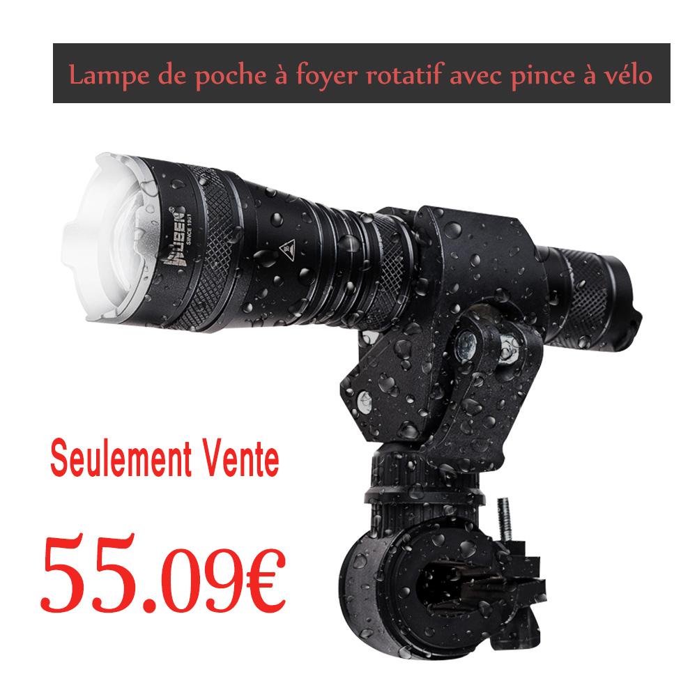 1200 Puissante Lampe Lumens Led Rechargeable Torche Acheter tQrBdCsohx