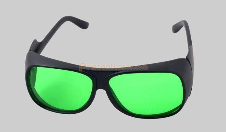 lunettes de protection pour laser vert