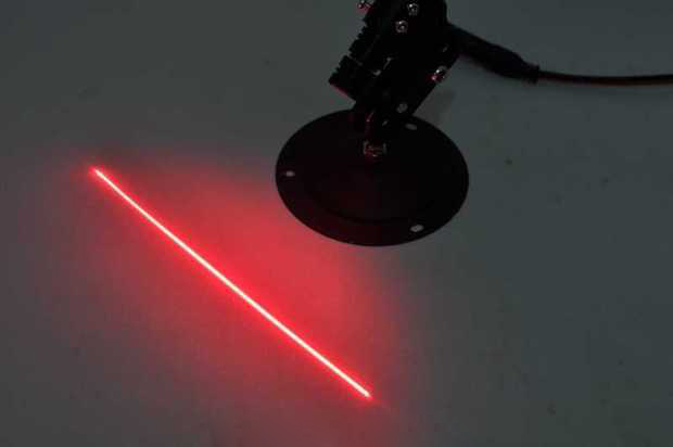 module diode laser rouge
