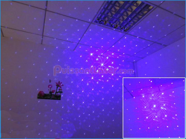 acheter projecteur laser bleu clairage de sc ne mini. Black Bedroom Furniture Sets. Home Design Ideas