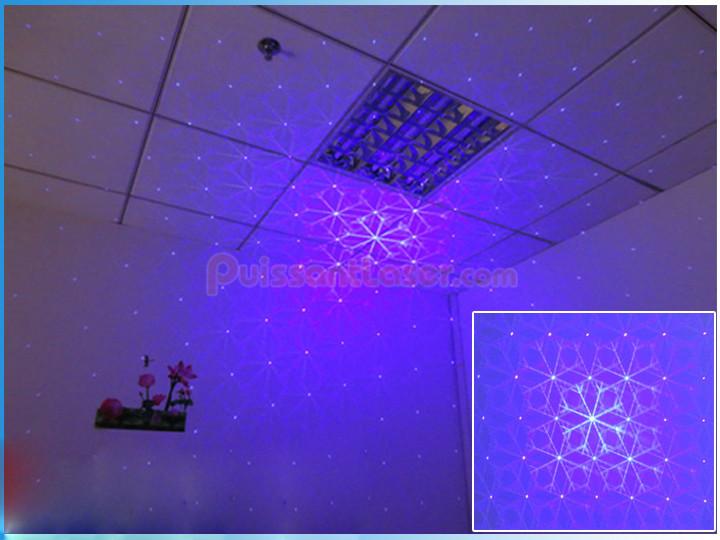nouveau projecteur laser bleu